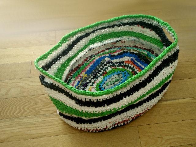 Très Tutoriel DIY Du crochet avec des sacs en plastique LT25