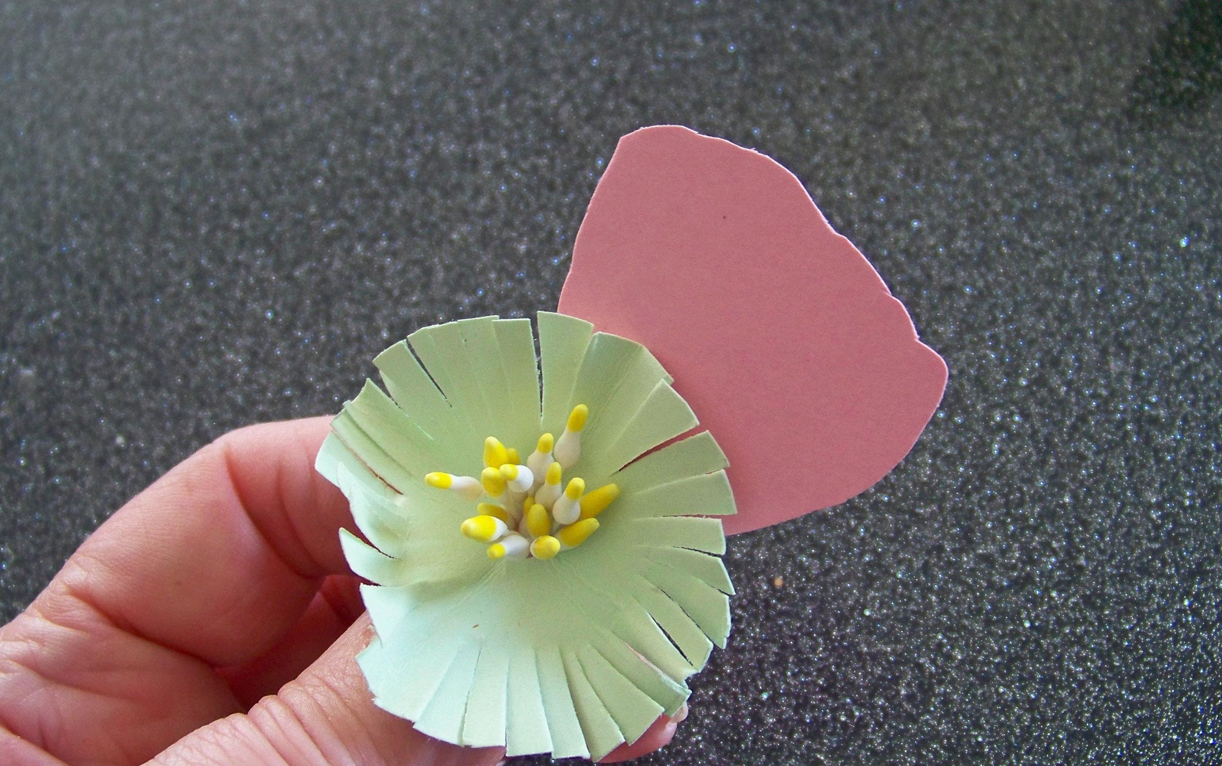 Tutoriel diy fleurs en papier pour mariage champ tre - Fleur commencant par t ...