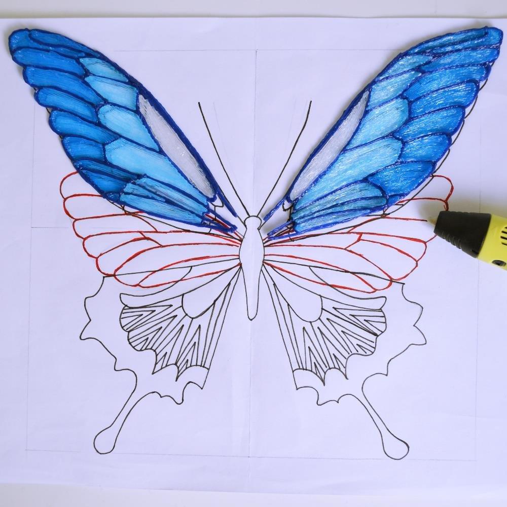 Tutoriel DIY Créez Des Papillons En 3D