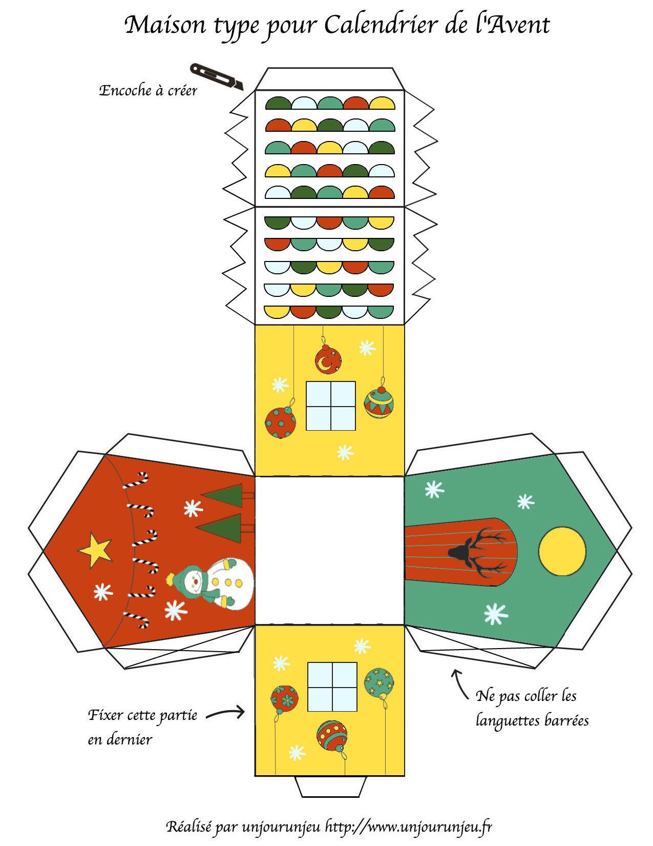 tutoriel diy le village de l avent. Black Bedroom Furniture Sets. Home Design Ideas