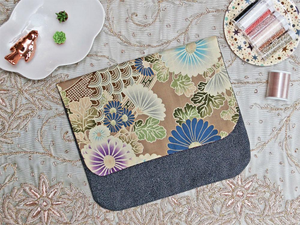 tutoriel diy coudre une pochette en tissu japonais. Black Bedroom Furniture Sets. Home Design Ideas
