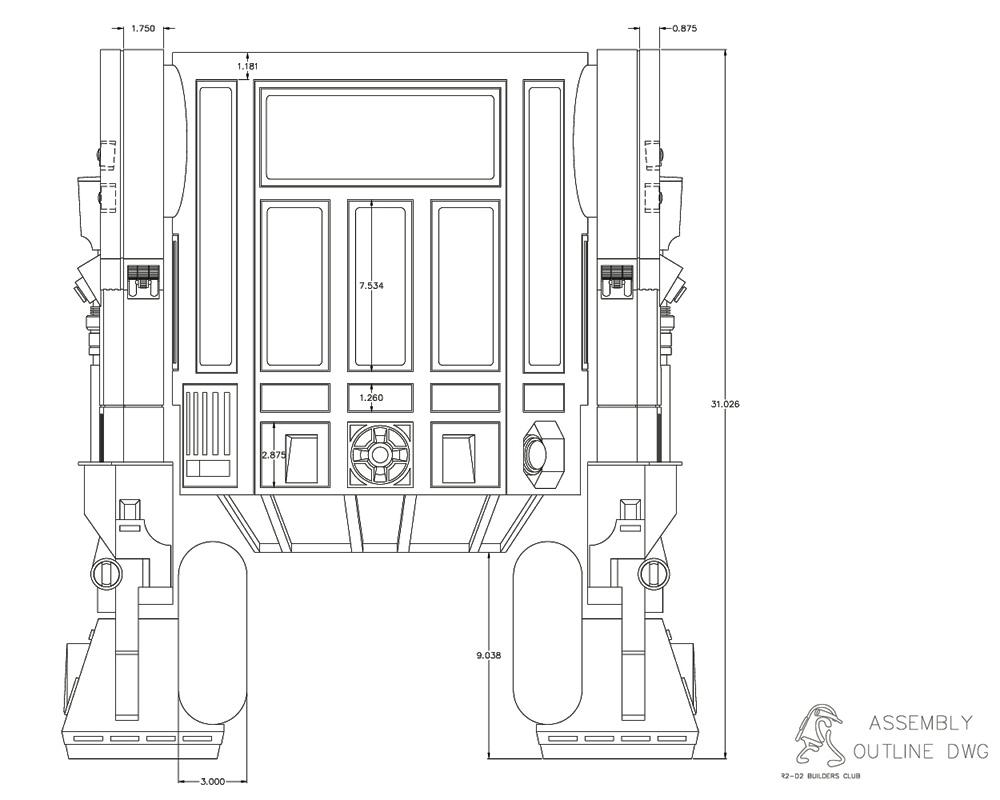 tutoriel diy construire son r2d2 taille r elle. Black Bedroom Furniture Sets. Home Design Ideas