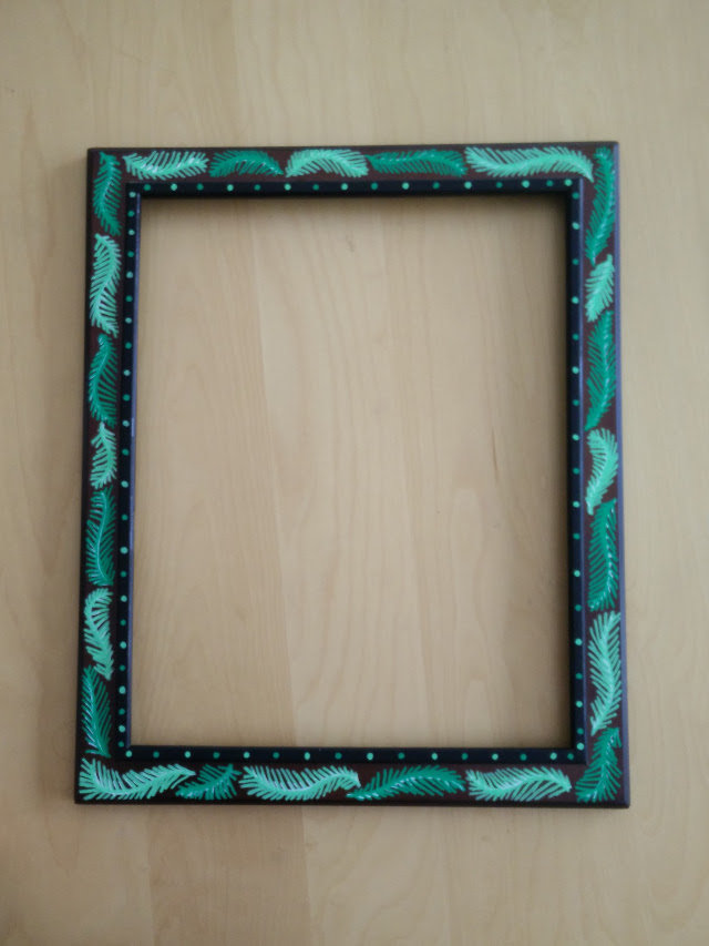 Lace earring holder 04
