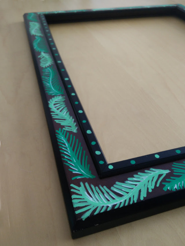 Lace earring holder 05
