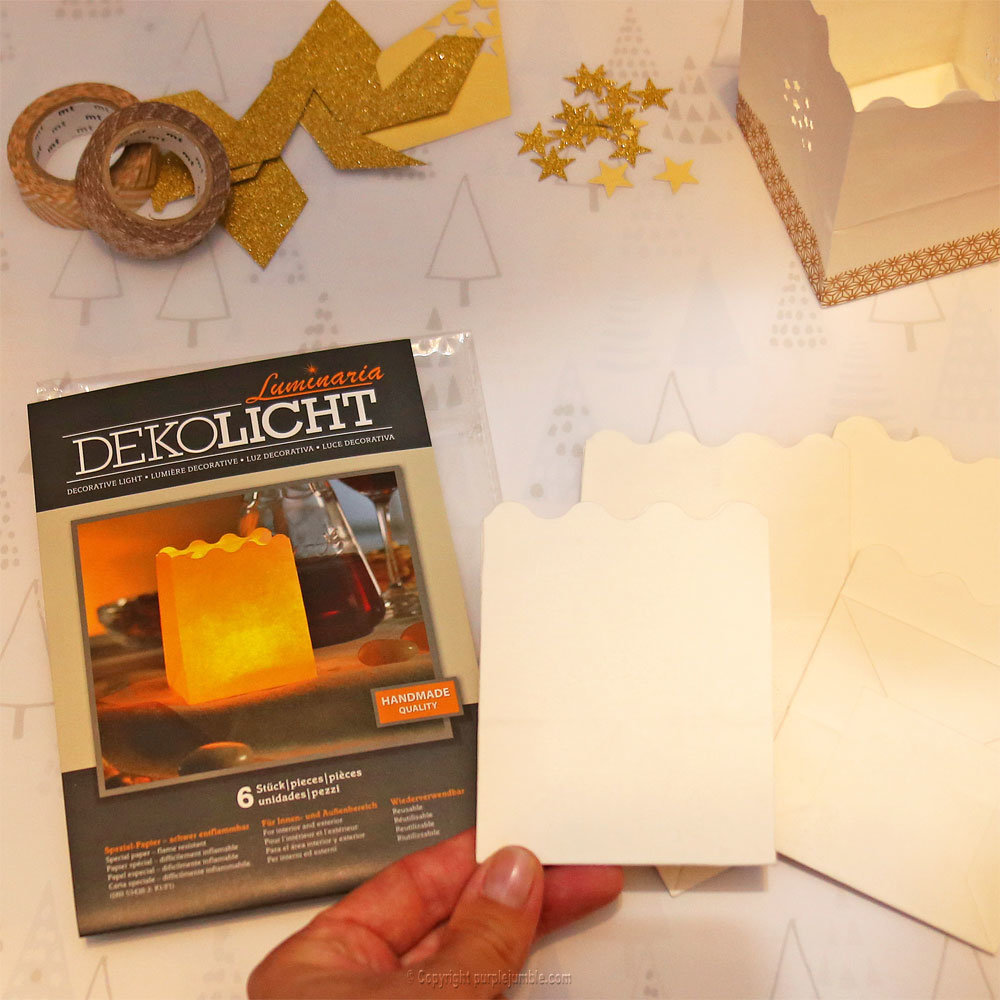 Diy bougeoirs marque place 1