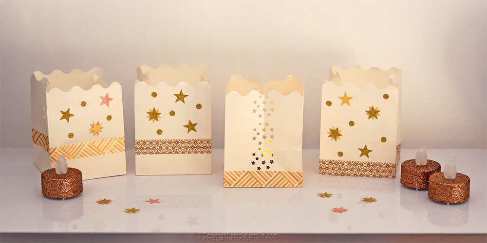 Diy bougeoirs marque place 5