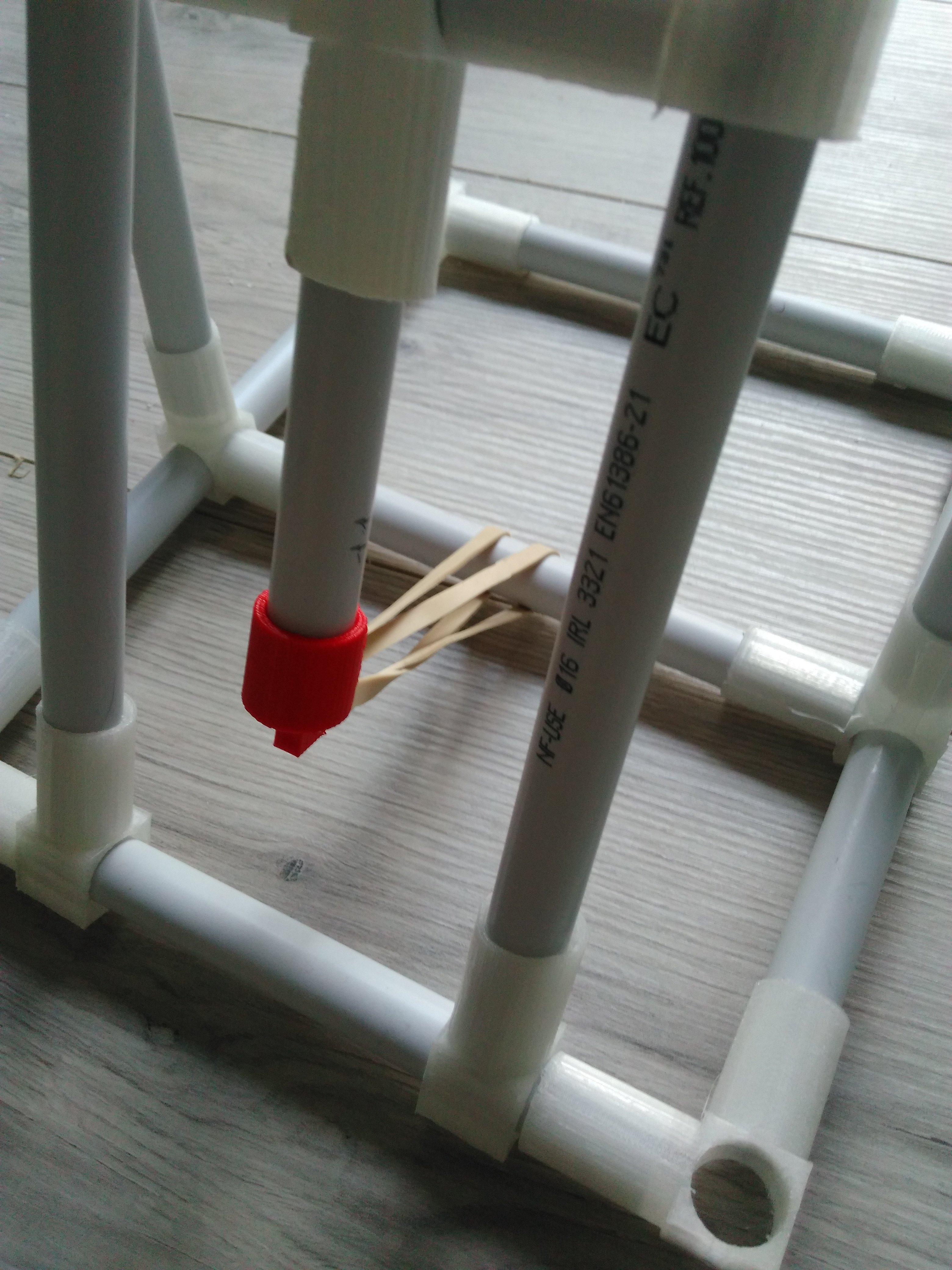 tutoriel diy fabriquer une catapulte avec des tubes en pvc et de l 39 impression 3d. Black Bedroom Furniture Sets. Home Design Ideas