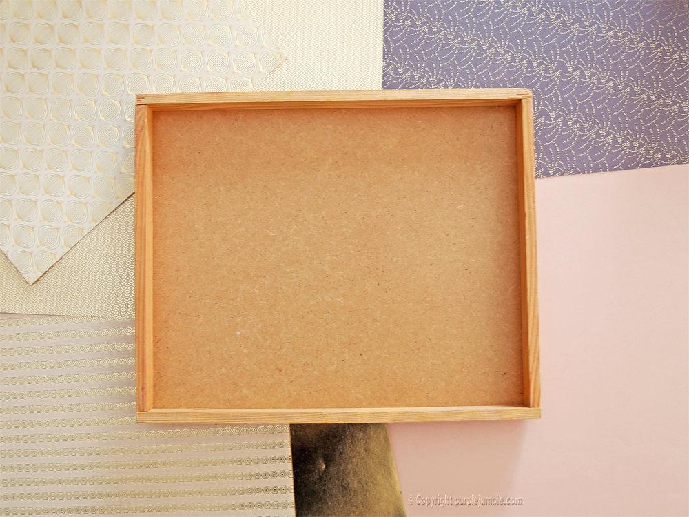 Diy cadre licorne papier decoupe 1