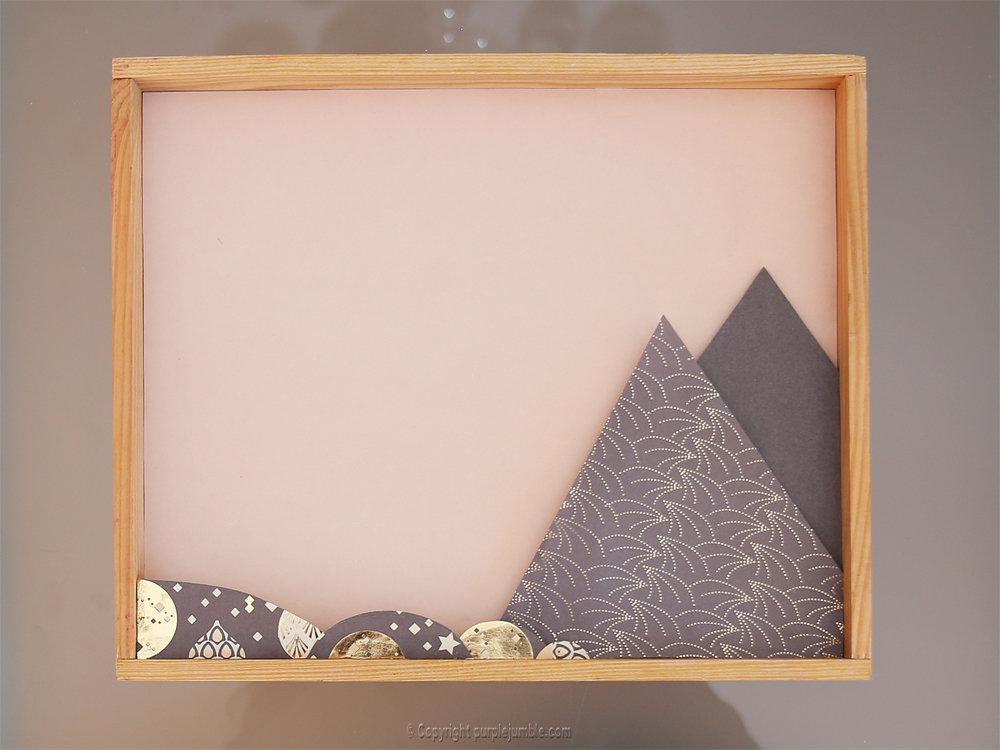 Diy cadre licorne papier decoupe 6