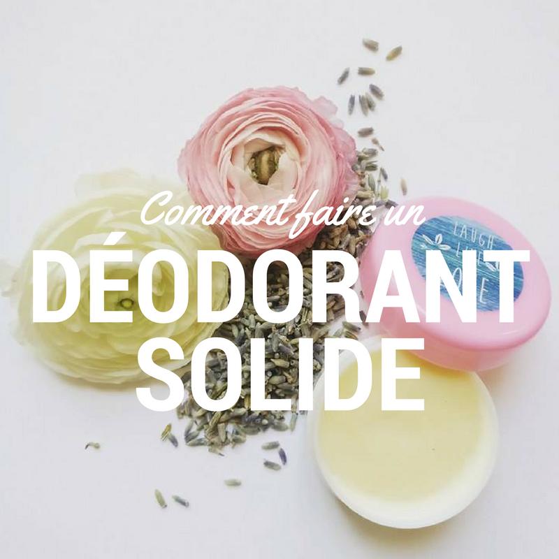 Comment faire un de odorant solide