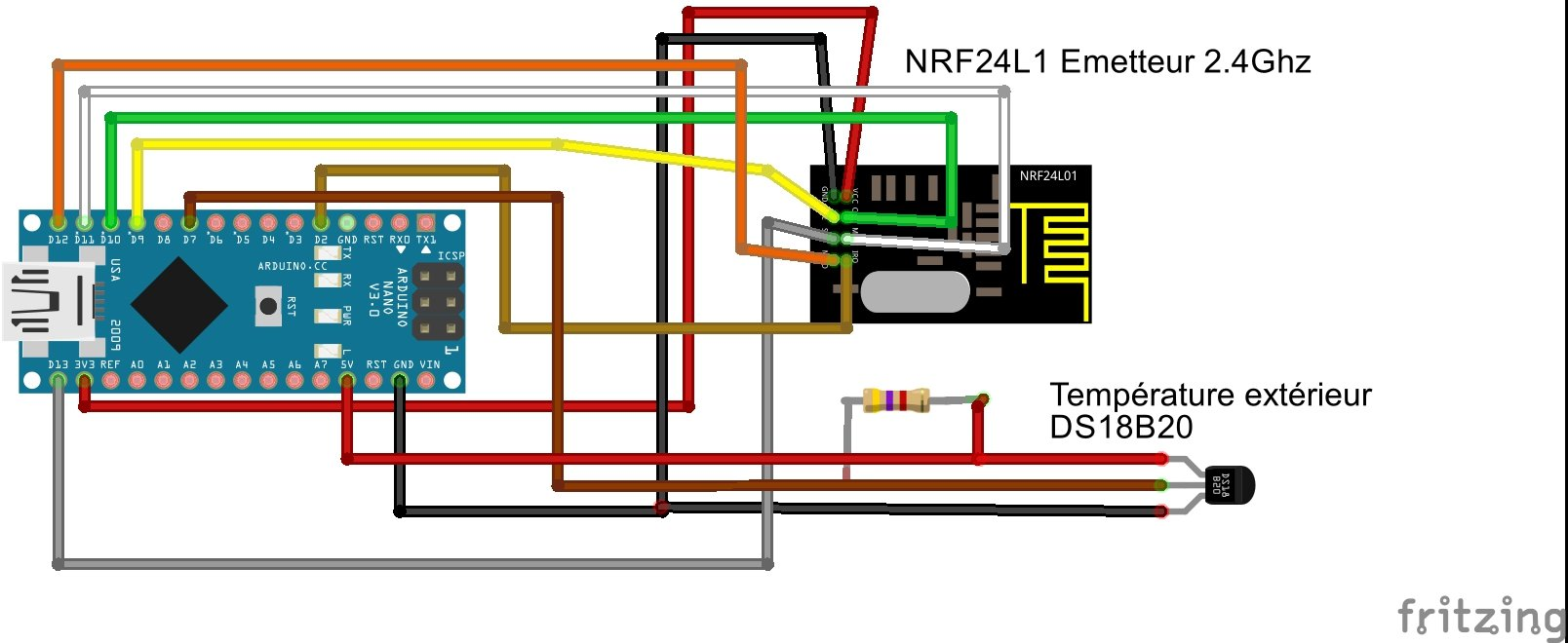 Schema capteur ds18b20 bb