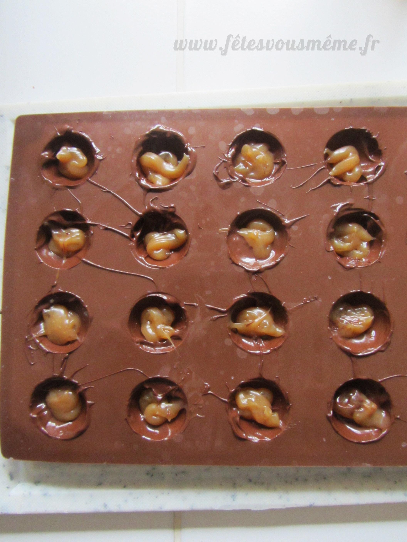 Chocolat coeur caramel  st valentin 2