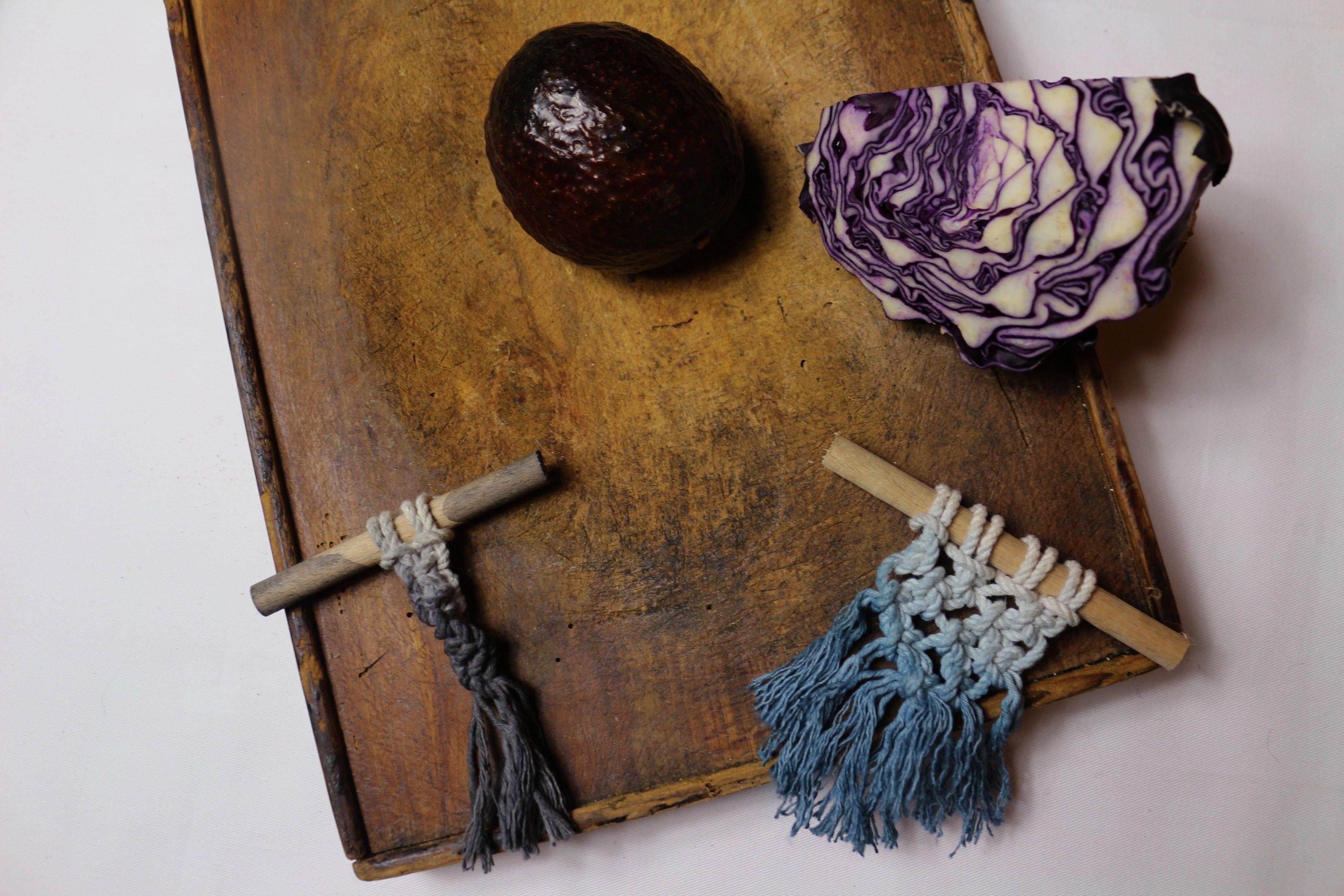 Tissage et teinture naturelle woodhappen