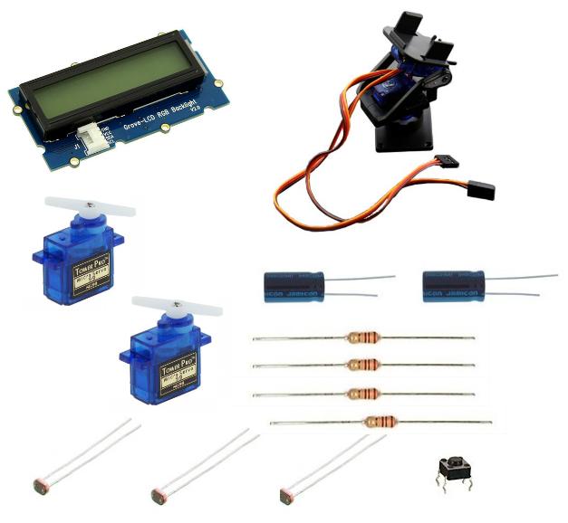Materiel tracker solaire