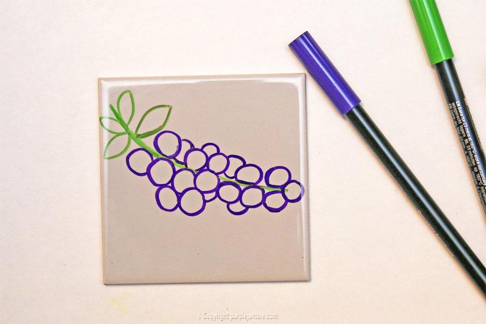 Diy ceramique fruits geometriques 8