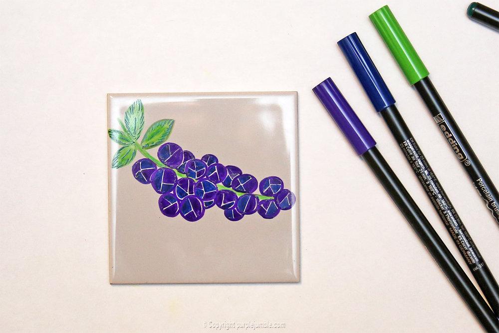Diy ceramique fruits geometriques 9