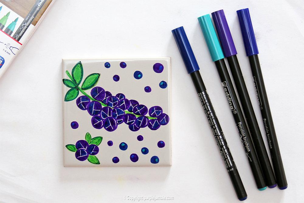 Diy ceramique fruits geometriques 10