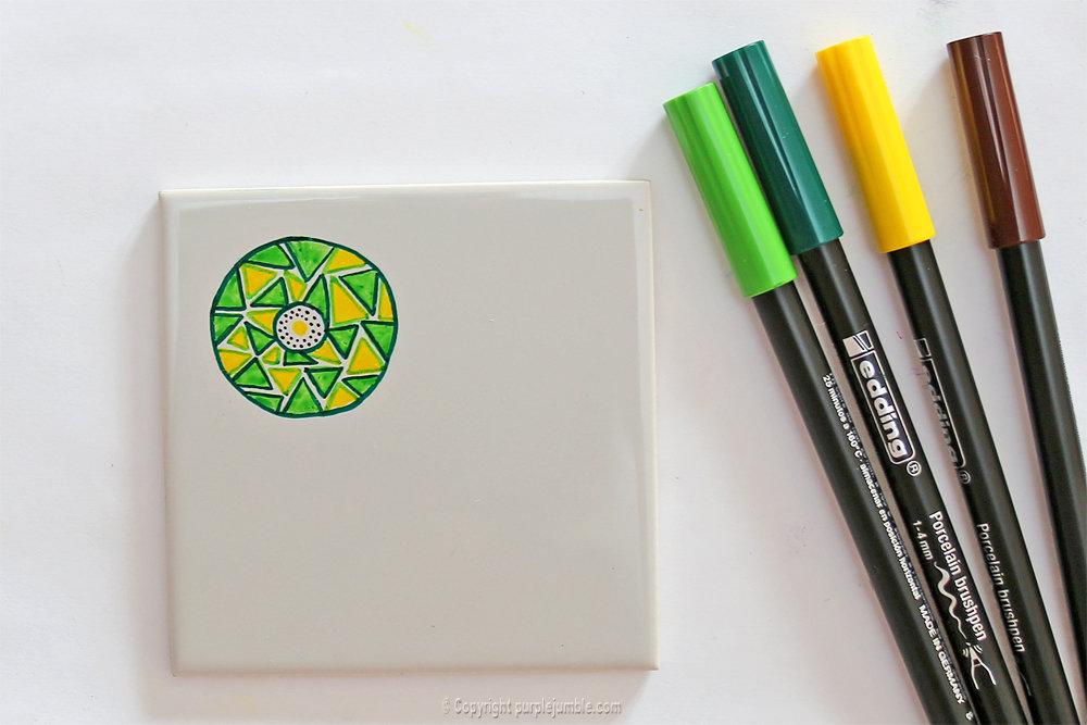 Diy ceramique fruits geometriques 11