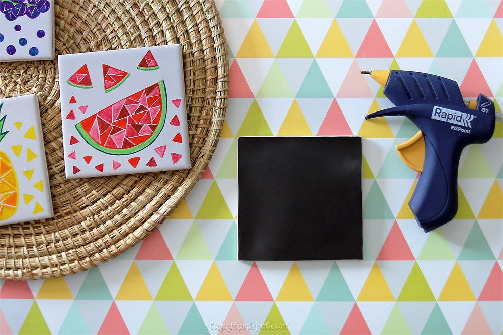 Diy ceramique fruits geometriques 17