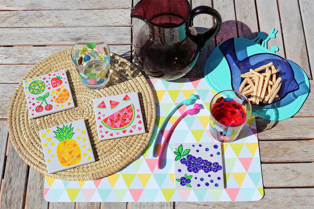 Diy ceramique fruits geometriques 20
