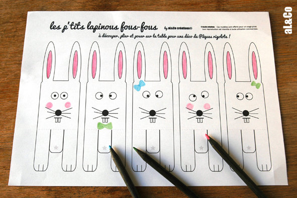 01 lapins coloriage