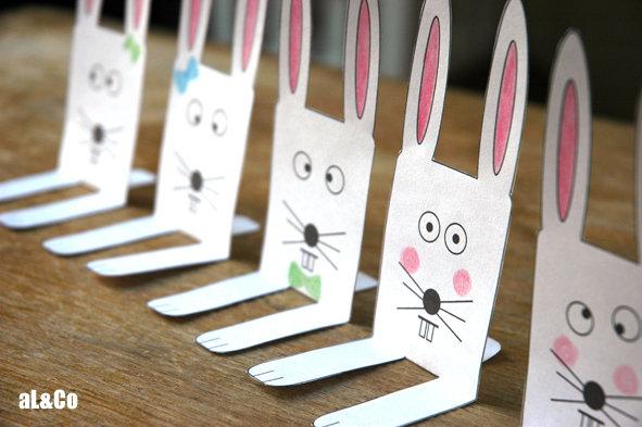 07 lapins ligne