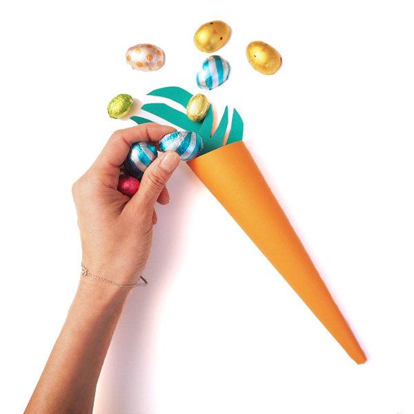 Diy carrot candy holder 12