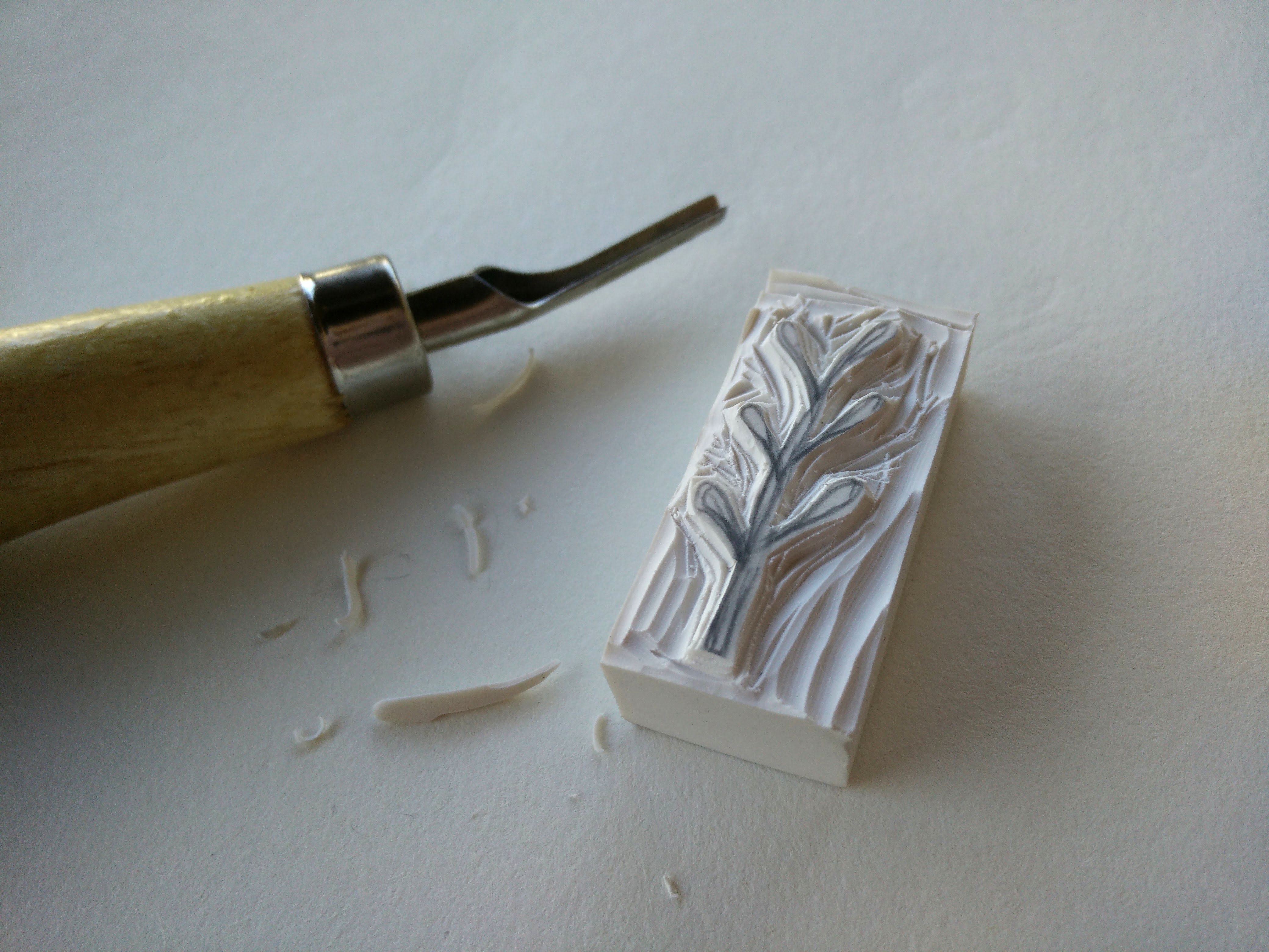 Hand carved rubber stamps 05