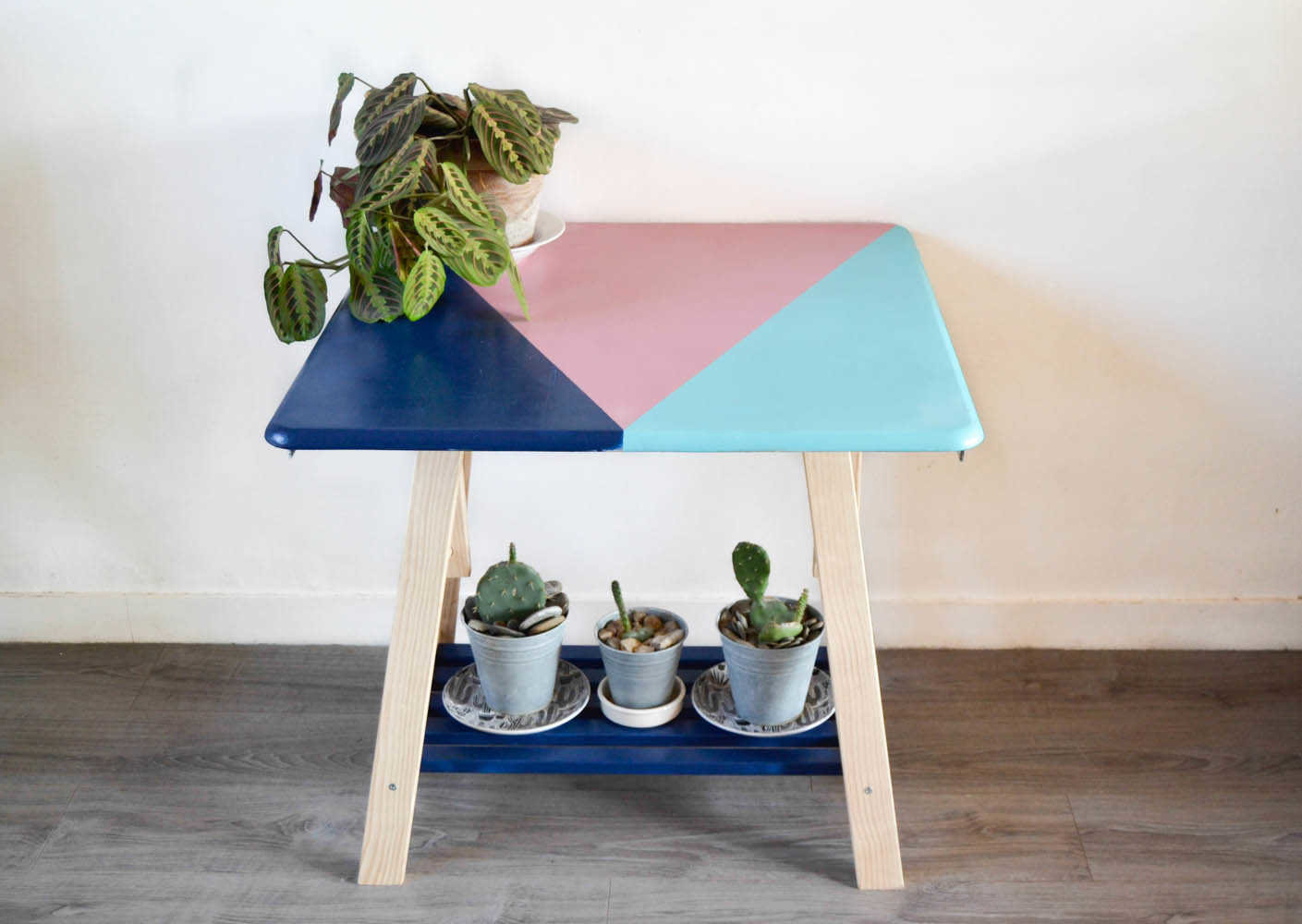 Medium table g%c3%a9om%c3%a9trique porte plante