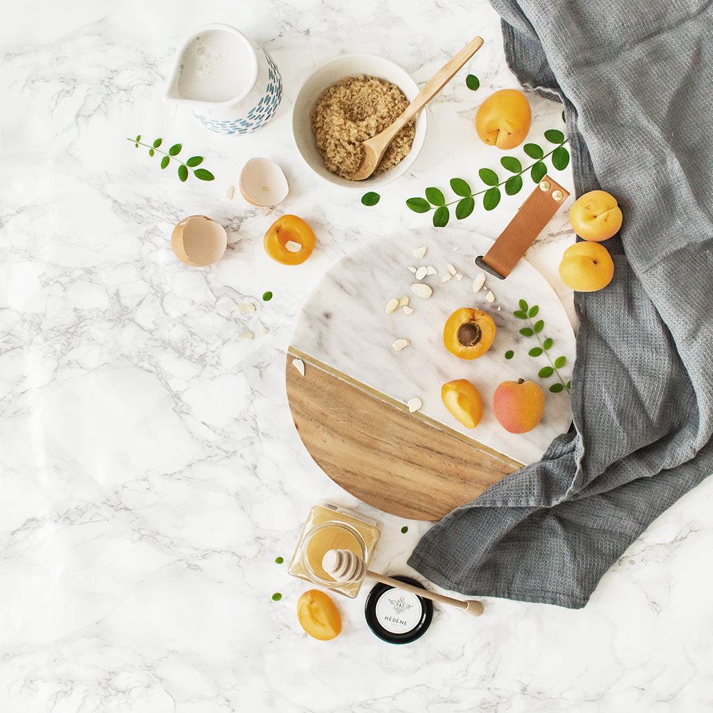 Tarte rustique abricot miel romarin 4   leanna earle