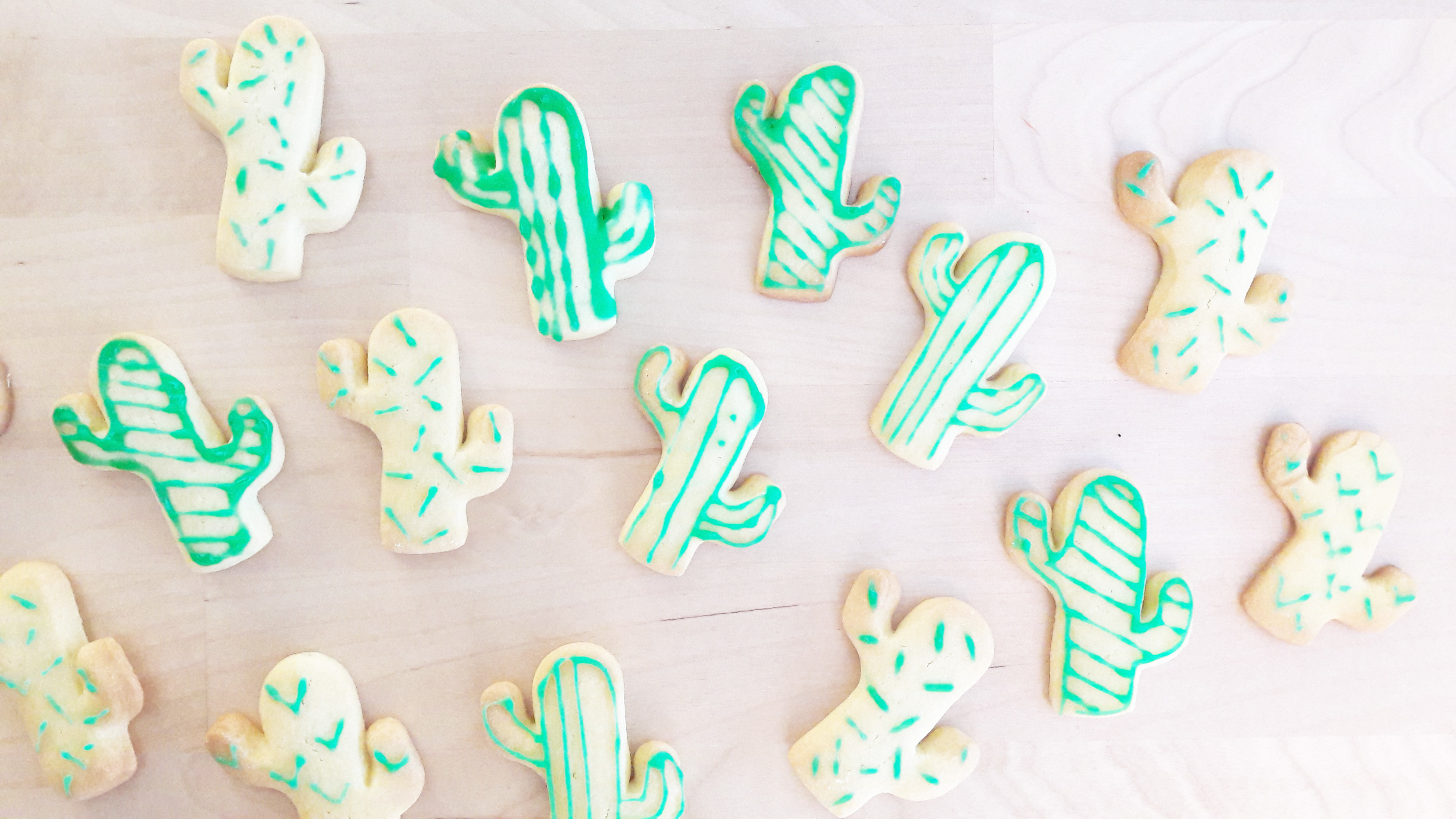 Recette biscuits cactus 8