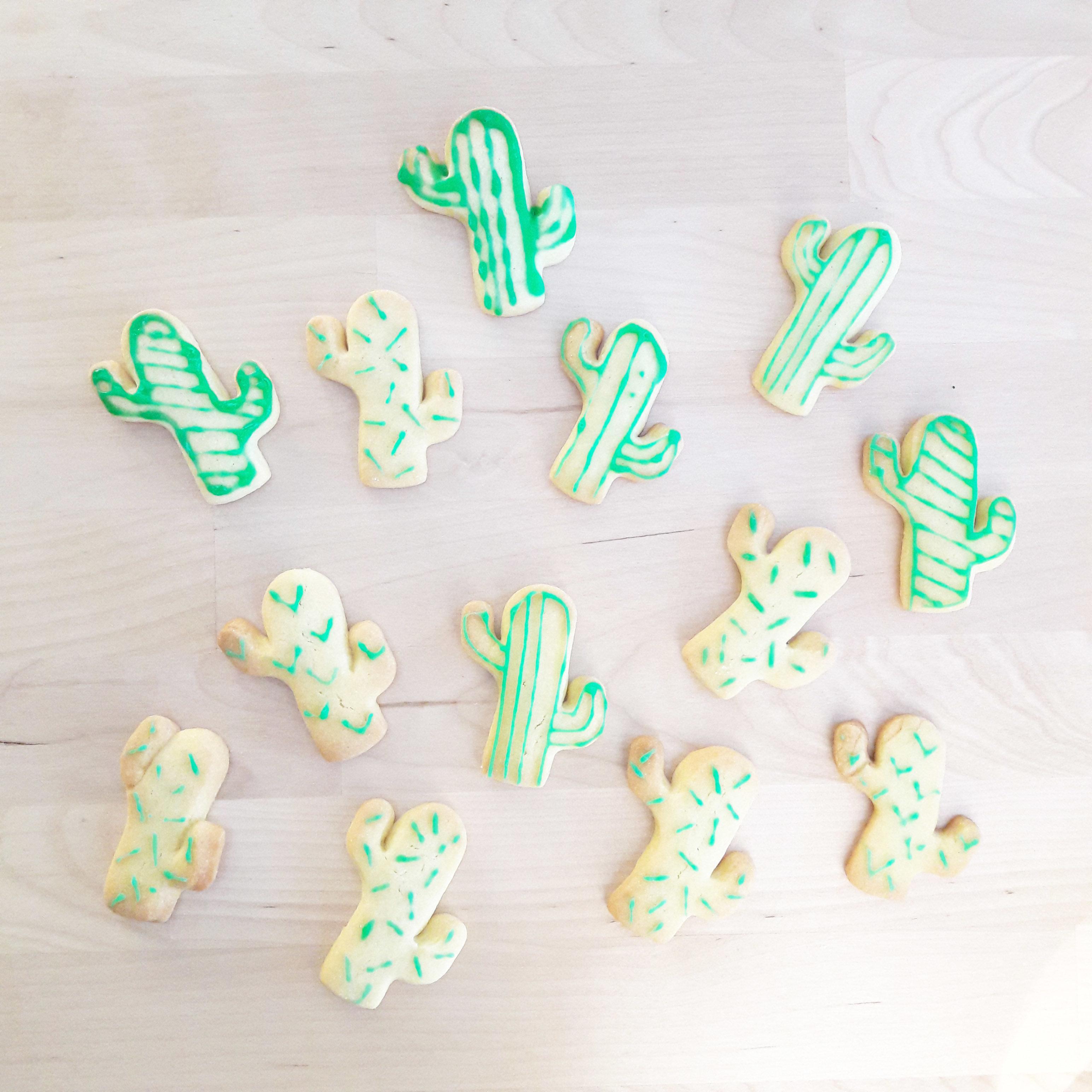 Recette biscuits cactus 6