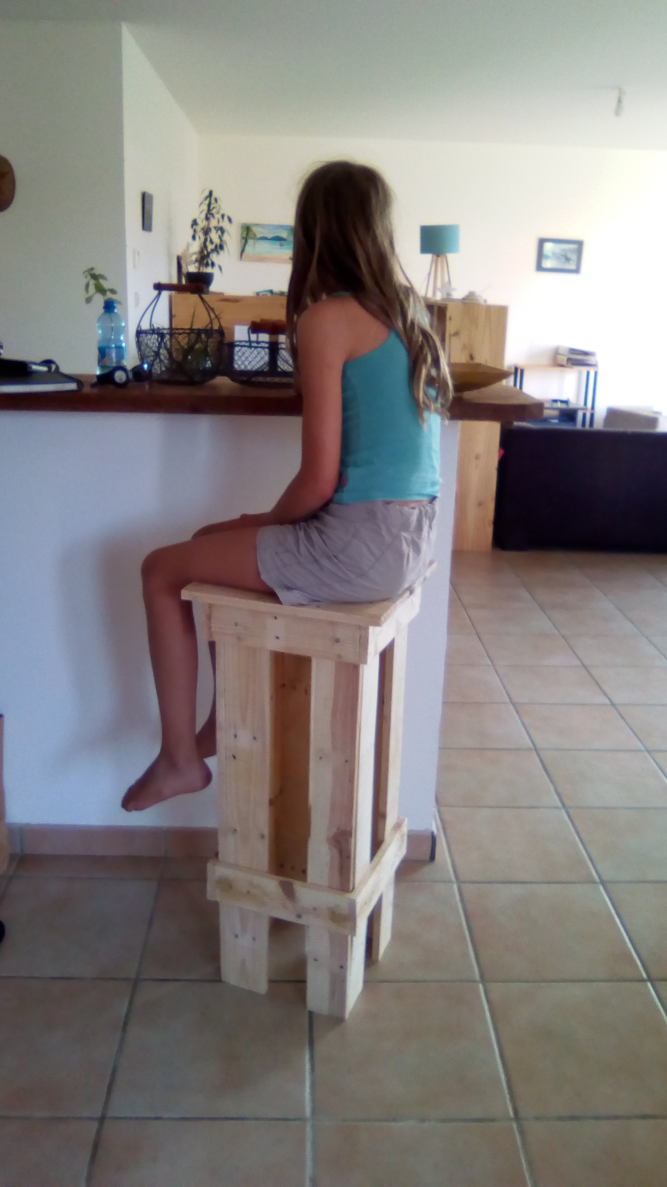 tabouret de bar diy