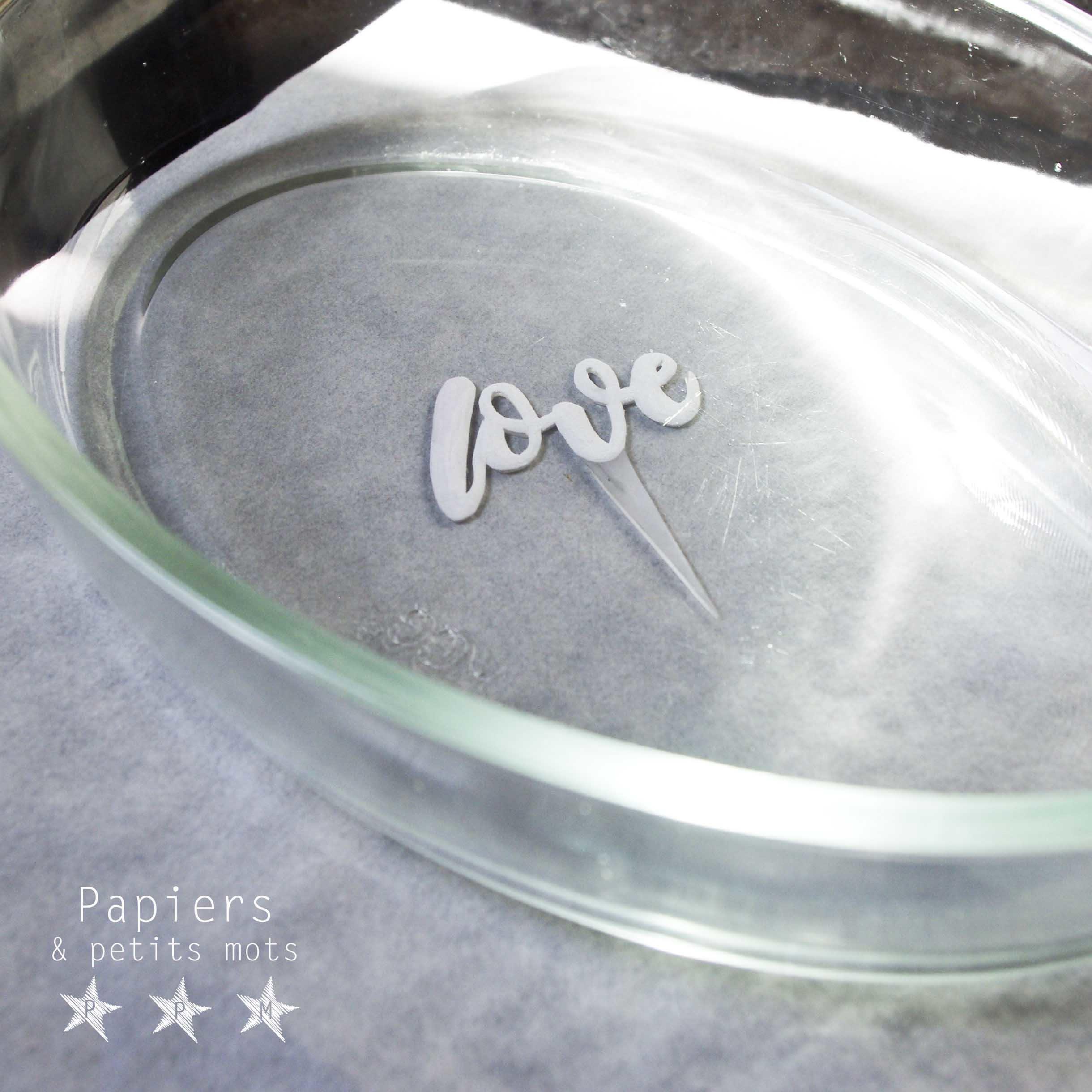 Cake topper plastique dingue 7