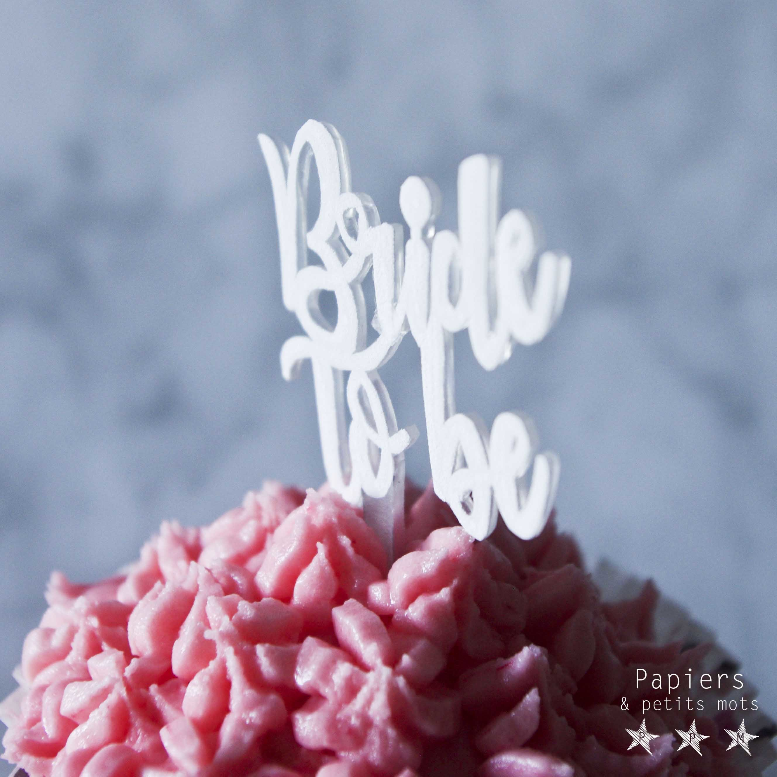 Cake topper plastique dingue 9