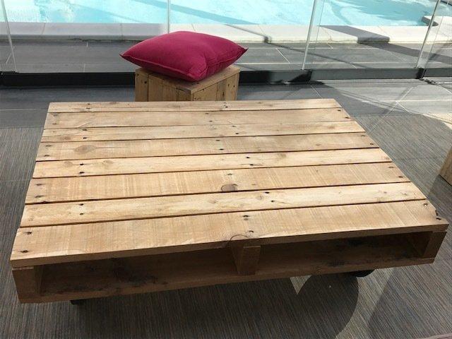 tutoriel diy une table basse tout en palette. Black Bedroom Furniture Sets. Home Design Ideas