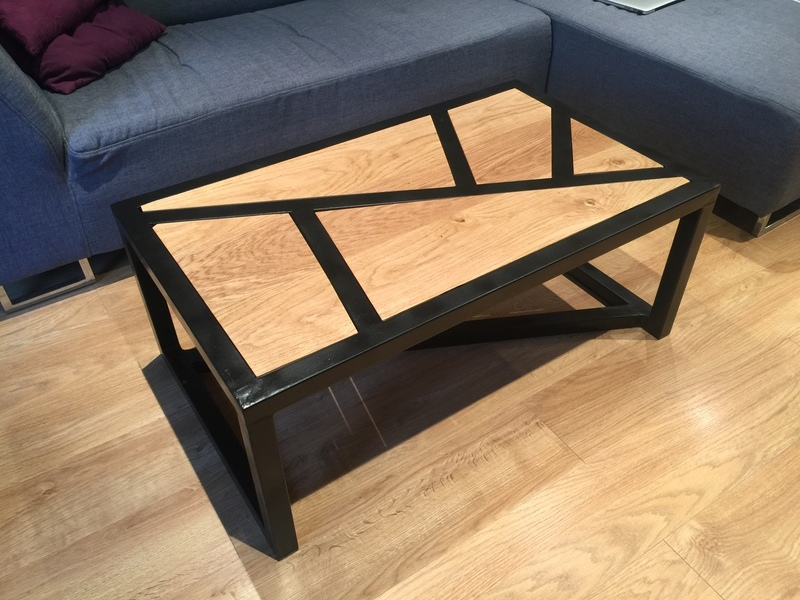 Diy Table Basse Bois Metal