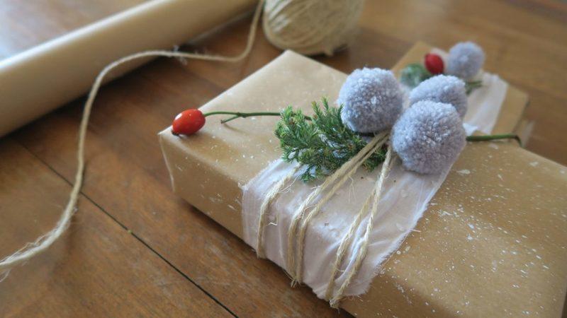Diy paquet cadeau 1