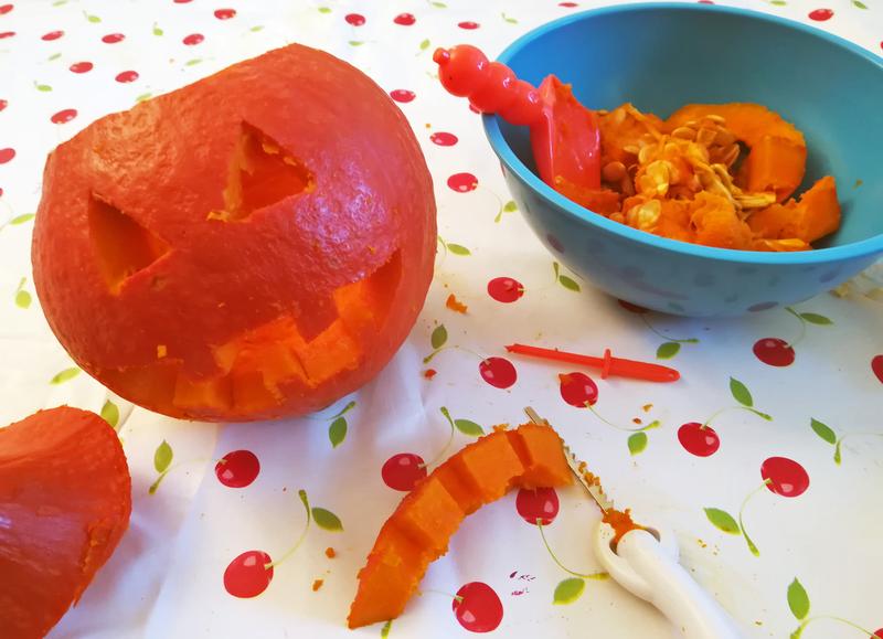 Comment sculpter une citrouille halloween