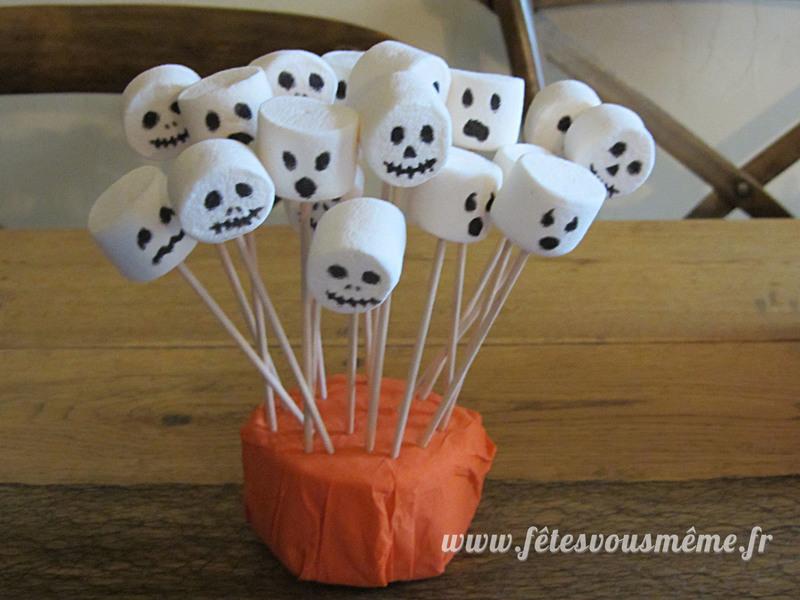 Chamallow fantome squellette