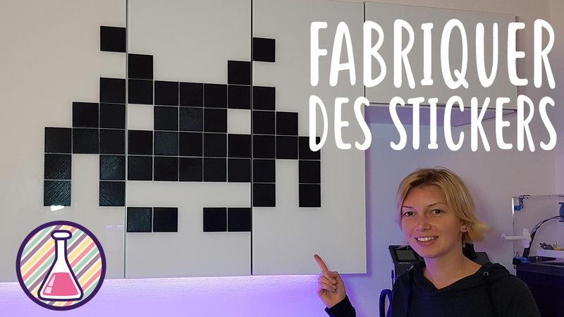 tutoriel diy fabriquer ses stickers avec une imprimante 3d. Black Bedroom Furniture Sets. Home Design Ideas