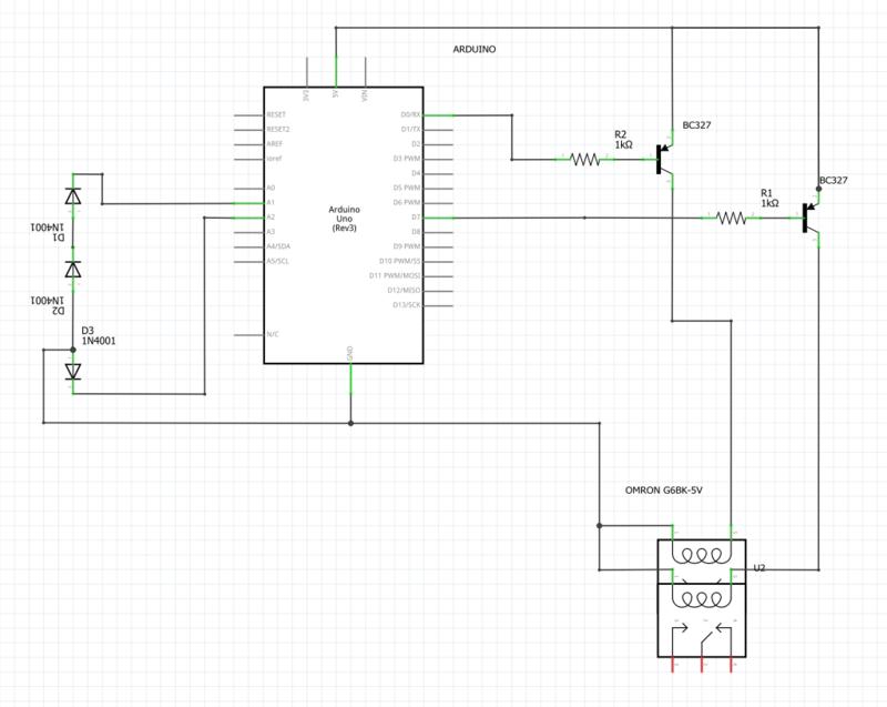 Thermo diodes schema