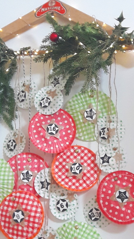 Diy calendrier avent caissettes cupcakes creamalice9
