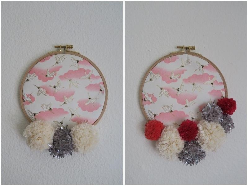 Medaillon diy papier japonnais