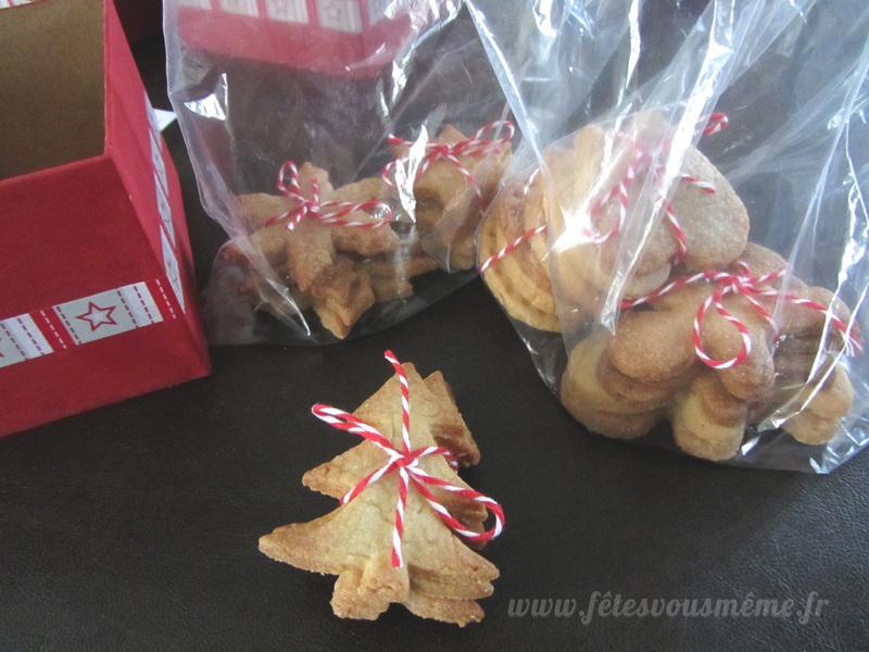 Biscuits de noel   emballage