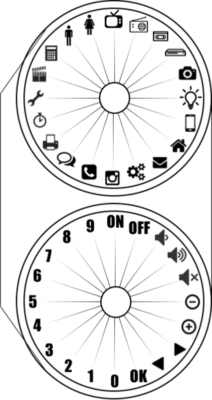 Pattern remote