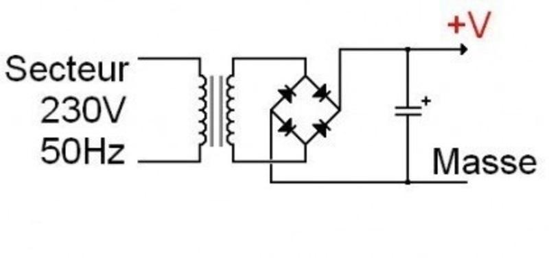 Le condensateur filtrage d alimentation
