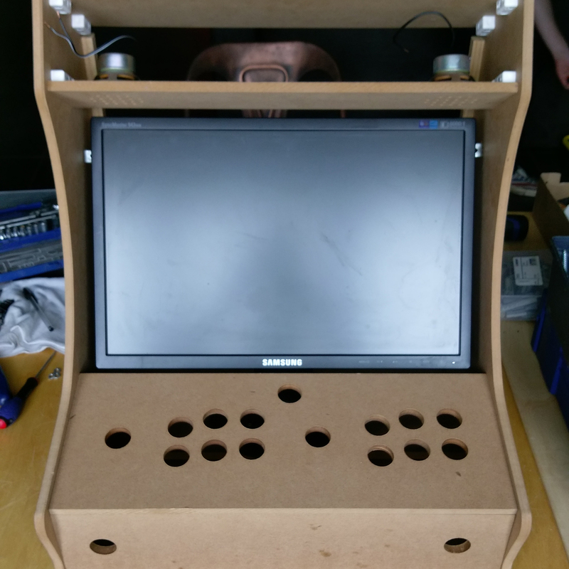 Ecran 19 pouces bartop arcade