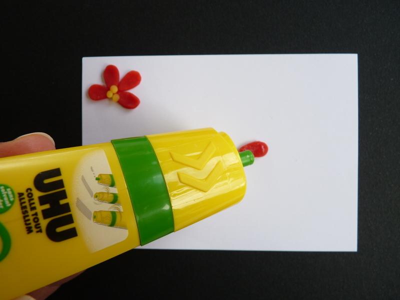 Carte de fleurs en p%c3%a2te %c3%a0 modeler   chagazetvous   oam x oxybul  70