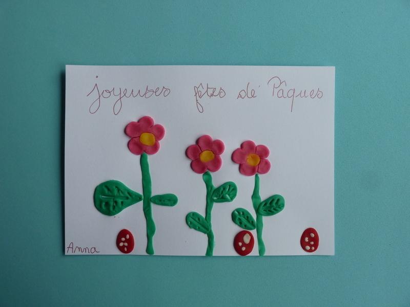 Carte de fleurs en p%c3%a2te %c3%a0 modeler   chagazetvous   oam x oxybul  159